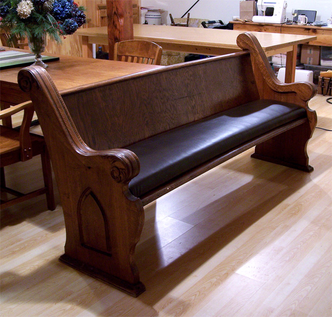 Building Comfort Into The Common Church Pew Cape